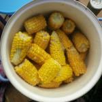 Maiskolben aus Guntas Garten