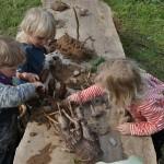 Naturwerkstatt mit Lehm